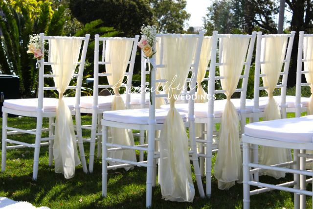 Chairs & Tables :: White Tiffany Chairs - Beautiful Wedding Hire