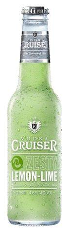 Rượu Vodka Cruiser Zesty Lemon & Lime - Chai 275ml - Rượu Nhập Khẩu TPHCM - douongcaocap.vn