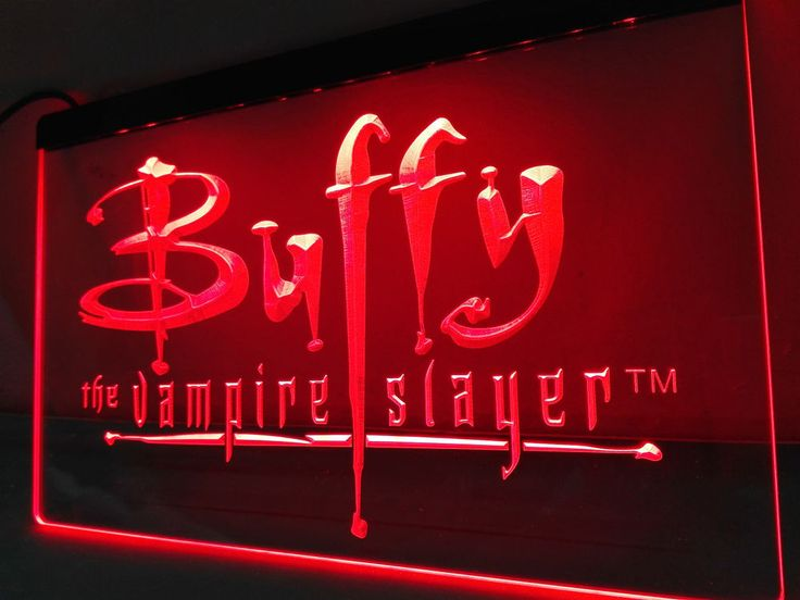 LC137- Buffy the Vampire Slayer Movie LED Neon Light Sign #Unbranded #NewClassicalPostmodern