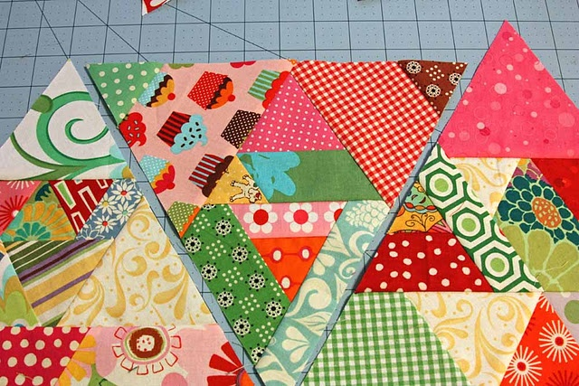 60-Degree Quilt tutorial - Part too (filler spaces)