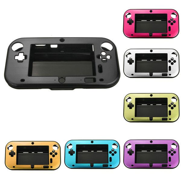 Aluminum Case Cover For Nintendo Wii U Gamepad Remote Controller. Description :    Aluminum Case Cover for Nintendo Wii U Gamepad Remote Controller In 7 Colors Optional                                 Features :   This aluminum case keeps your Nintendo Wii U Gamepad Remote Controller safe and protected with smart style. Aluminum case adds a splash of color and provides protection from bumps and scratches. Durable protection has never looked cooler than when you snap your gaming device into…