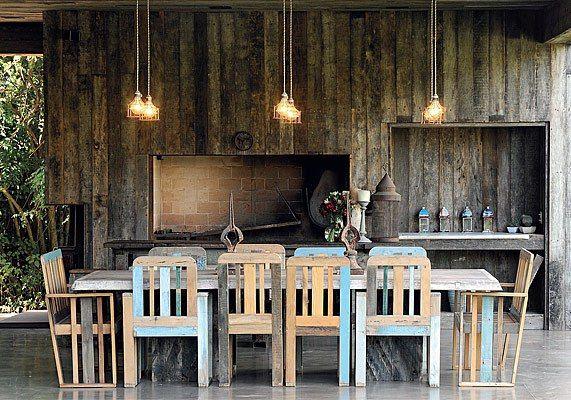 mesa de asado y sillas by Pablo Ledesma, argentina