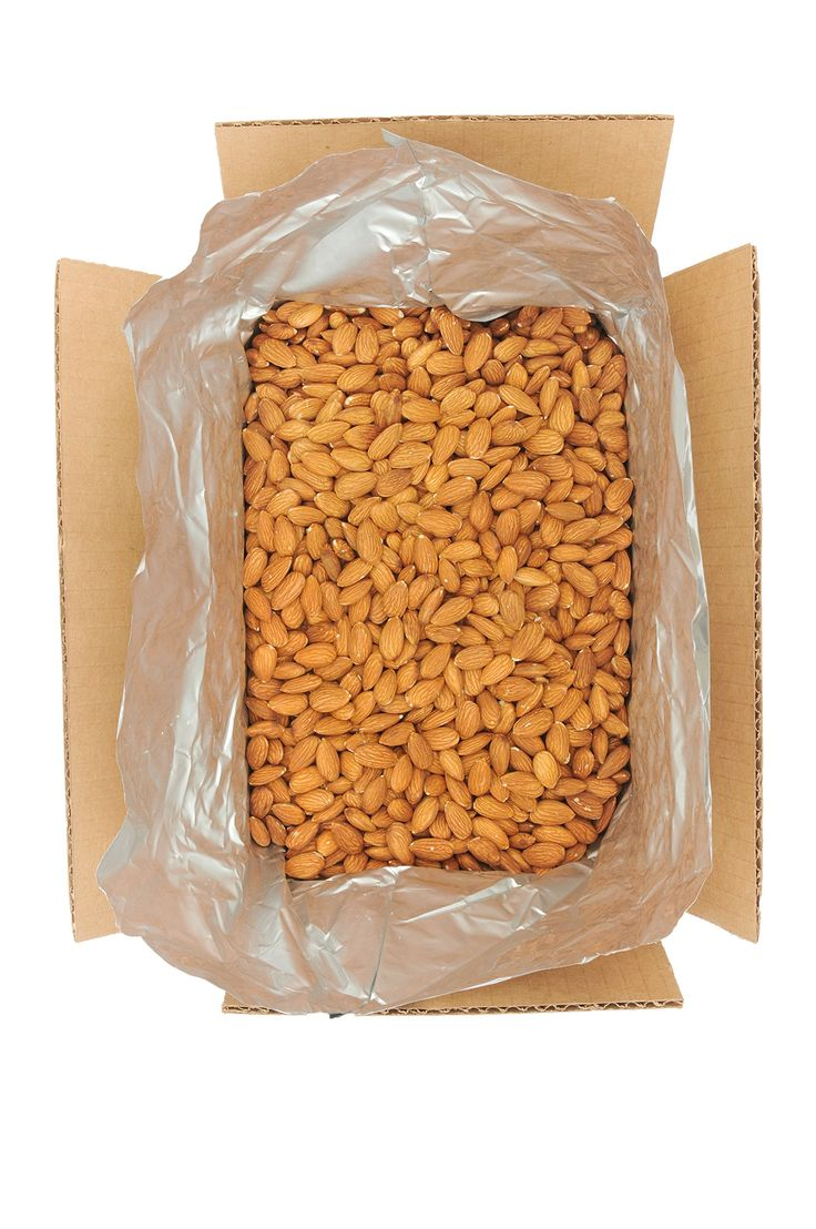 Heart Ridge Farms Bulk Whole Natural Raw California Almonds Packaged in Air Free Foil Bag to Maintain Highest Quality Freshness -10 Pound Box