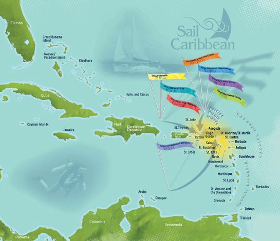 caribbean virgin islands map most beautiful beaches of the world