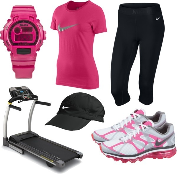 Nike Workout 3, created by qtpiekelso on Polyvore my-polyvore-creations