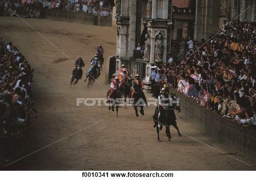 Siena, Palio horse race