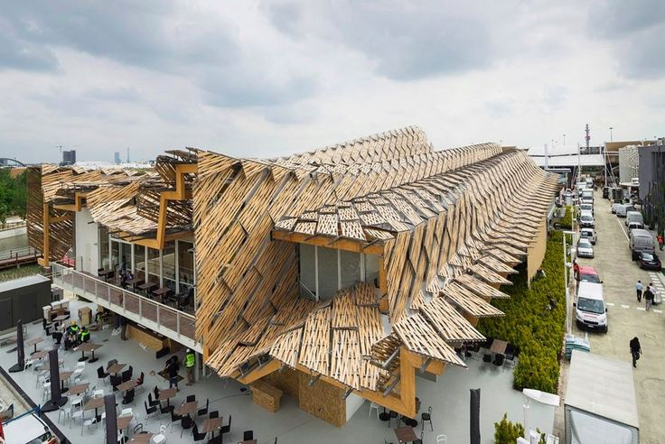"""China Pavilion is """"The Land of Hope"""" also turns into a structural show at Expo Milano 2015"""