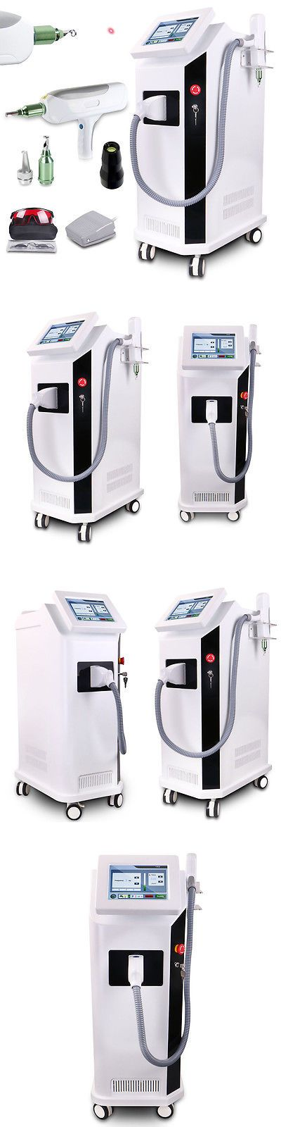 Tattoo Removal Machines: Q-Switch Nd Yag Laser Tattoo Removal 1064And532nm Freckle Eyebrow Pigment Remover BUY IT NOW ONLY: $2279.0