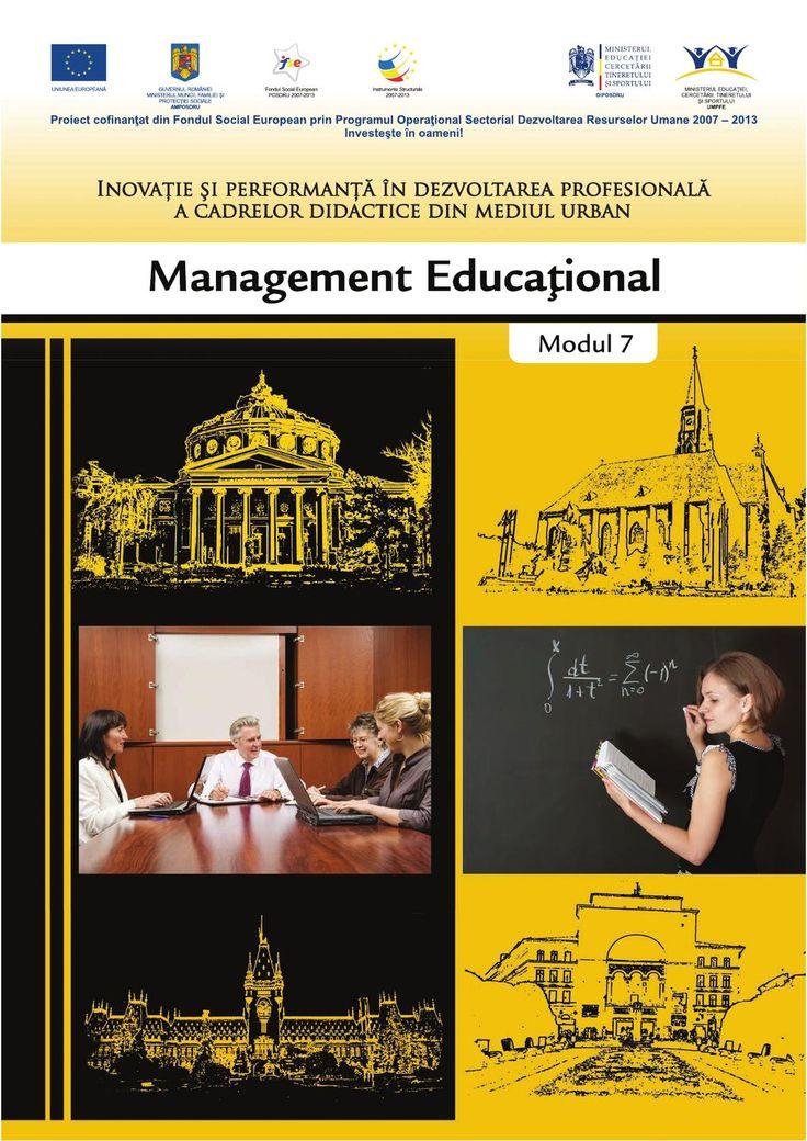 Management educational  Repere teoretic si aplicatii foarte valoroase