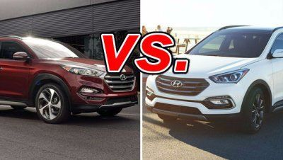 Hyundai Tucson vs #santa #fe #auto #insurance #company http://insurances.nef2.com/hyundai-tucson-vs-santa-fe-auto-insurance-company/  # Hyundai Tucson vs. Hyundai Santa Fe Sport It s not uncommon for Hyundai to bake a little extra competition under its brand in an attempt to compete with the big boys in the automotive world. This is especially true in the crossover segment, where the similarly sized Tucson and Santa Fe Sport play. Buyers often find themselves poring over buyer s guides…