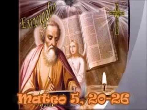 """Evangelio del dia y comentario (Mt 5, 20-26) Jesús dijo a sus discípulos: """"Les aseguro que si la justicia de ustedes no es superior a la de los escribas y fariseos, no entrarán en el Reino de los Cielos..."""