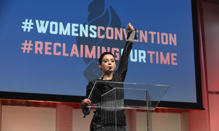 """Rose McGowan made her first public appearance since openly accusing Harvey Weinstein of alleged sexual assault. The actress took the stage in Detroit, Michigan during the Women's Convention.   """"I have been silenced for 20 years,"""" The Scream star said. """"I have been harassed. I have been maligned. And you know what? I'm just like you. What happened to me behind the scenes happens to all of us in this society, and that cannot stand and it will not stand. We are free. We are strong. We are…"""