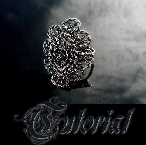 Baroque Ring Jewelry Tutorial Wire Wrapped by BraceletsWorld, $5.99