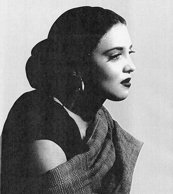 Katy Jurado, actriz de la epoca de oro del cine mexicano.