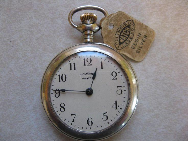 Ingersoll midget watch history