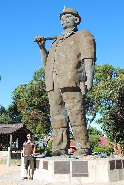 The Big Miner by shklaw, via Flickr • Kapunda South Australia • aussie big things australia