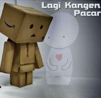 Gambar DP BBM Kangen Pacar Paling Romantis