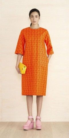 Pernilla Kleid Orange