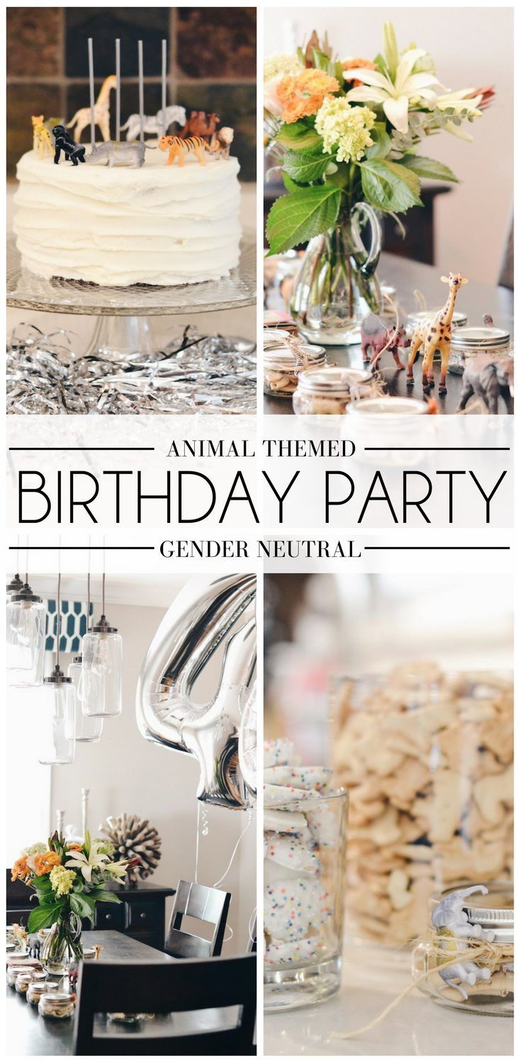 party animal birthday party theme - great gender neutral birthday party theme, would be great for a shared birthday party theme too. simple, classic party theme for a kid's birthday party // animal birthday party decor, minimalist birthday party decor