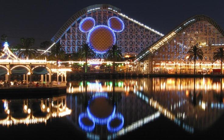 Disneyland in  Anaheim.