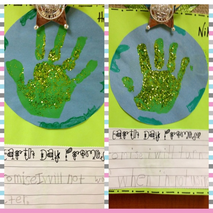 Glitzy In 1st Grade earth day