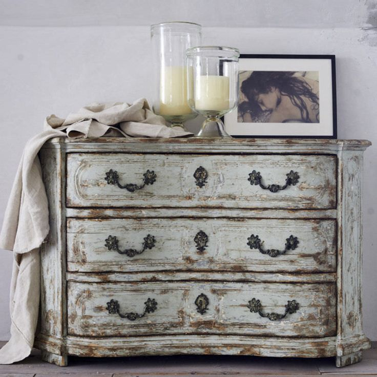 Traditional chest of drawers / wooden / white - NORTHERN ITALIAN - Ralph Lauren Home
