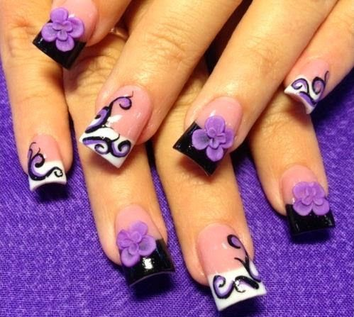 50 Stunning 3D Nail Artwork Types and Suggestions | Nail Design #nail #naildesign #nailart
