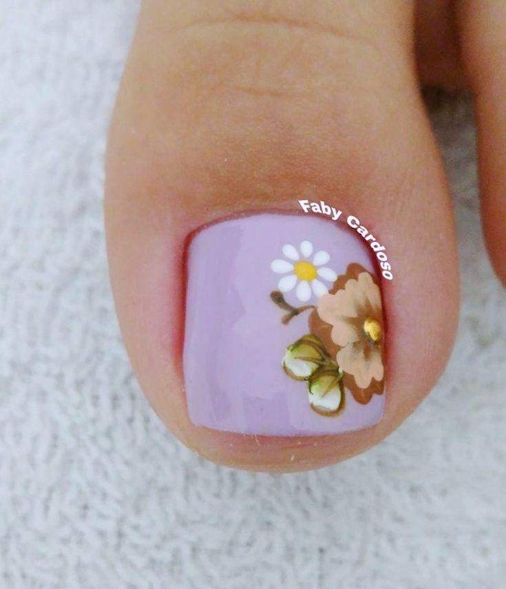 Ideias e Inspiração de Unhas dos pés decoradas, as melhores fotos