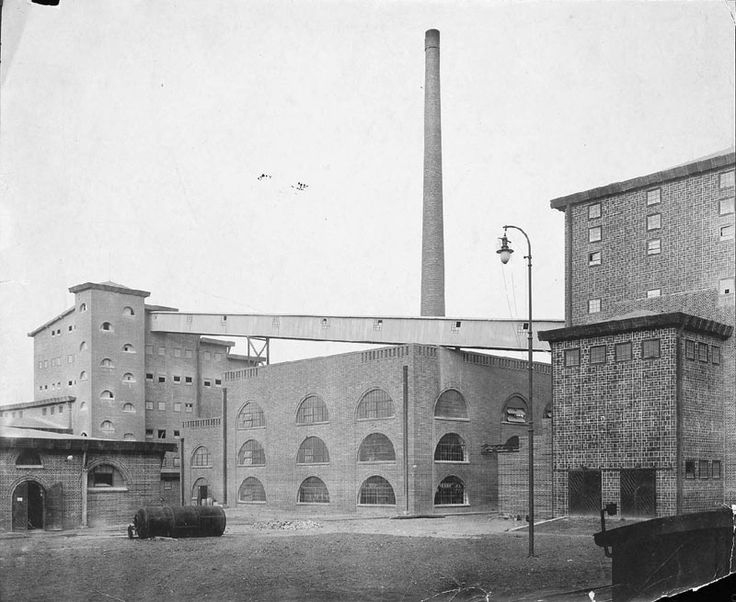 Sulphuric Acid Factory | 1911-1912 | Lubań, Poland | Architect Hans Poelzig