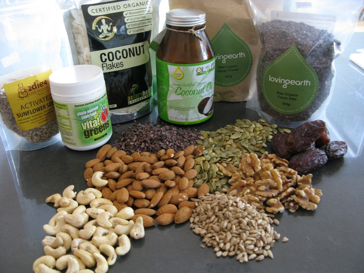 An assortment of the delicious wholefood ingredients in the Sugar-Free Bellisimo Balls recipe!