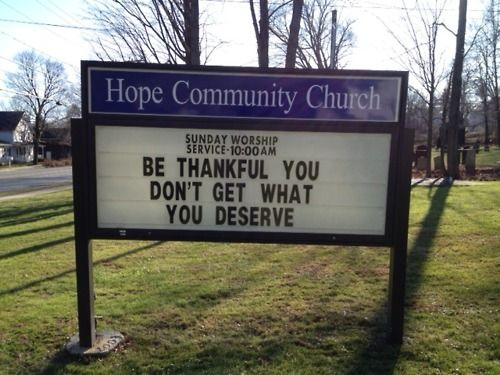 Image result for church signs about mercy and grace