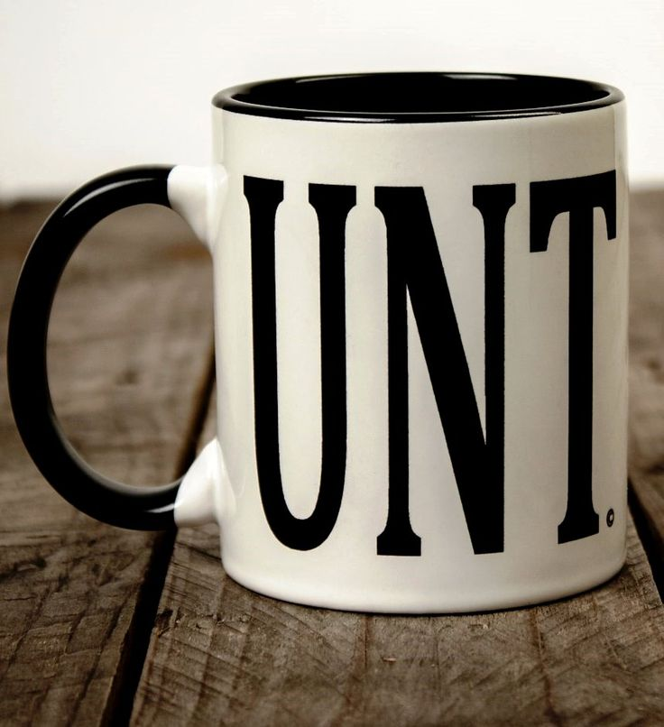 C unt coffee mug I enjoy this a little too much perfect birthday present ;)