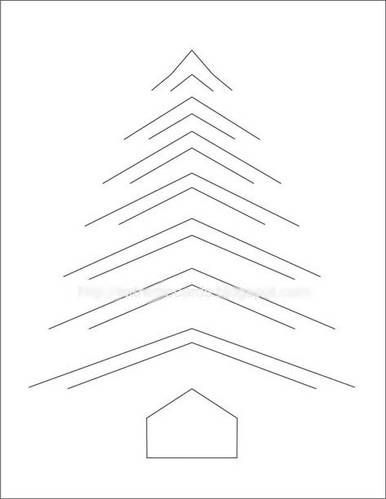 39 best incire images on Pinterest Paper crafts, Papercraft and - free christmas tree templates