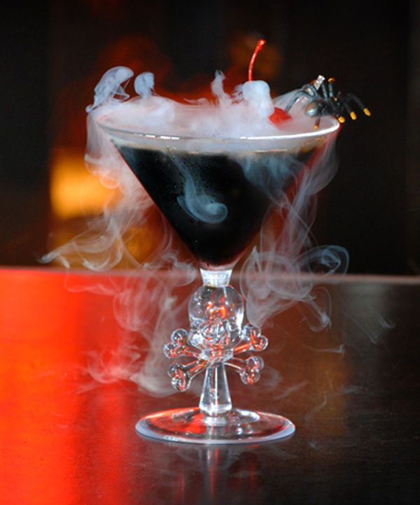 Vanilla Vodka Patrón XO Cherry Dry Ice •Vanilla Vodka •Patrón XO •Cherry •Dry Ice