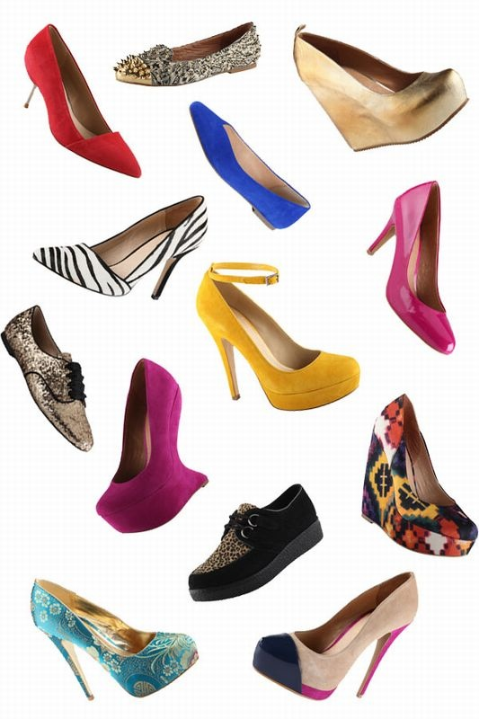 Shoes glorious shoes! Pumps and Wedges from Aldo! #SPCCardValentine