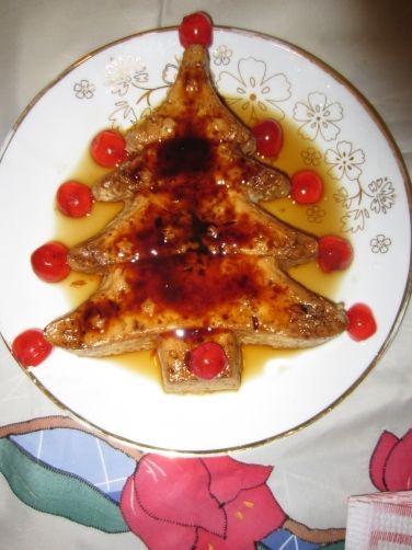Flan de huevo navideño express para #Mycook http://www.mycook.es/receta/flan-de-huevo-navideno-express/