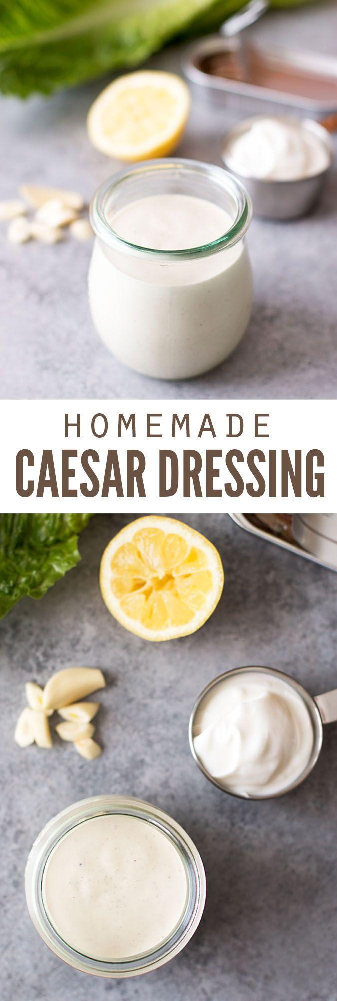 how to make caesar salad dressing video