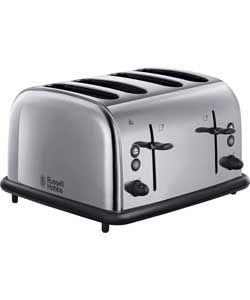Russell Hobbs 20711 4 Slice Toaster - Stainless Steel.