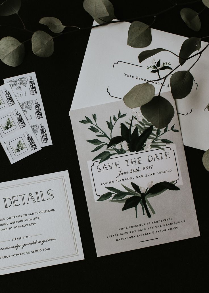 our save the dates designed by minted for coco kelley