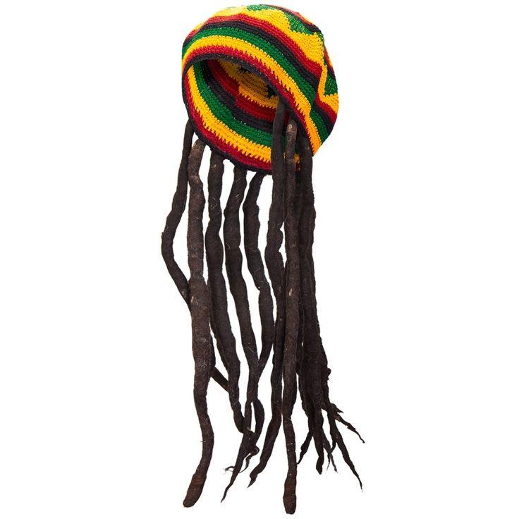 Rasta Tam Hat With Dreads