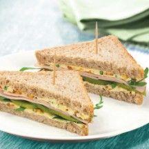 Sandwich met kalkoen, augurk en rucola-mosterdcreme - WW