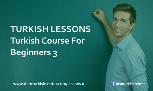 #Learn #Turkish #Language with #TurkishLanguage Course For Beginners 3