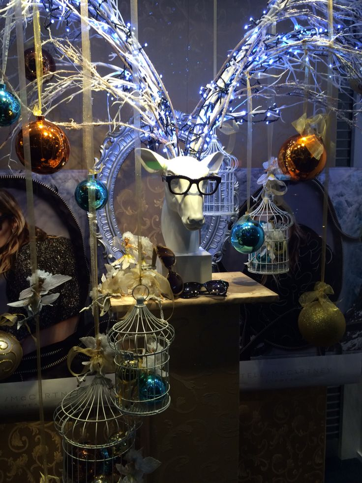 "Stella McCartney, ""Goodnight Honey.......Goodnight Deer"", at Occhiali Optical, Ponsonby Auckland New Zealand, created by Ton van der Veer"