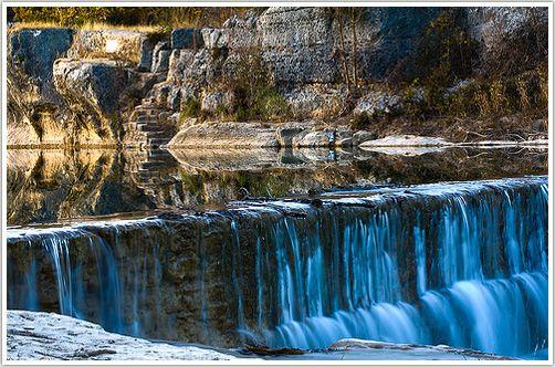 Blue Hole Falls, Georgetown TX