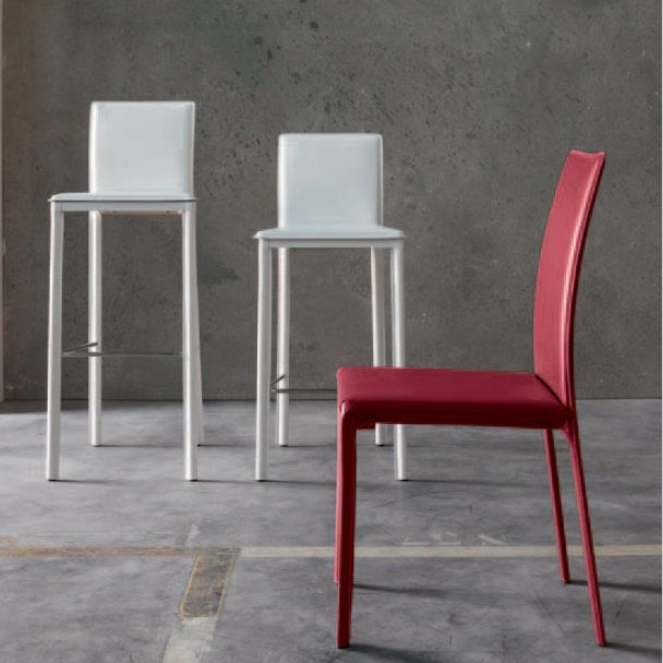 AlmaMax Stool This stool is available in many shapes and colours. It also has a twin chair if you're interested. Looks great both in domestic kitchens and dining rooms and in coffee shops or bars.