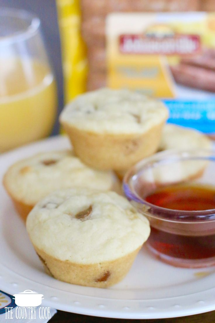 Easy Pancake and Sausage Muffins