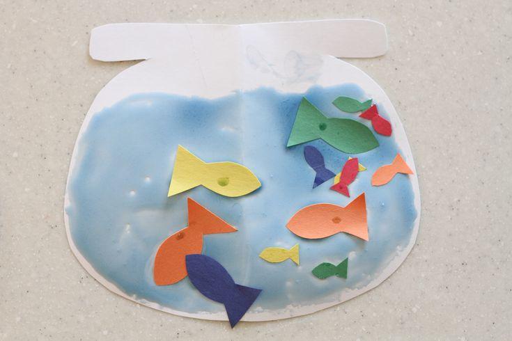 Fishbowl Craft: One Fish, Two Fish, Red Fish, Blue Fish