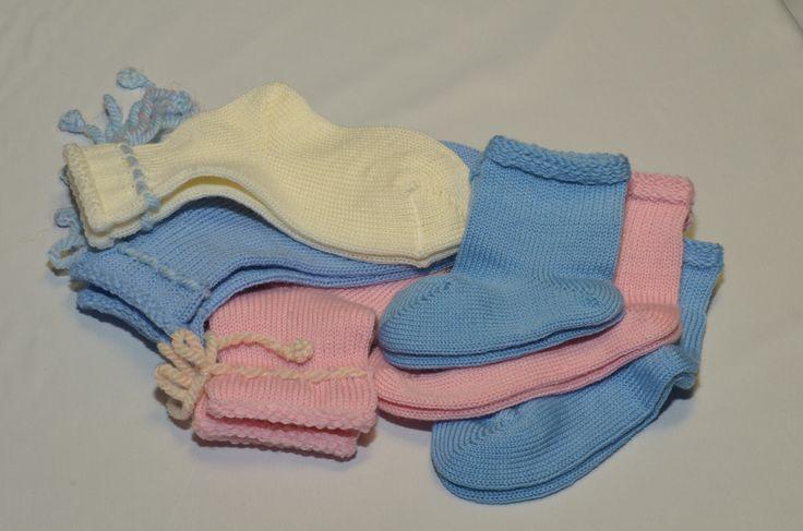 Носочки для малышей из 100% шерсти мериноса