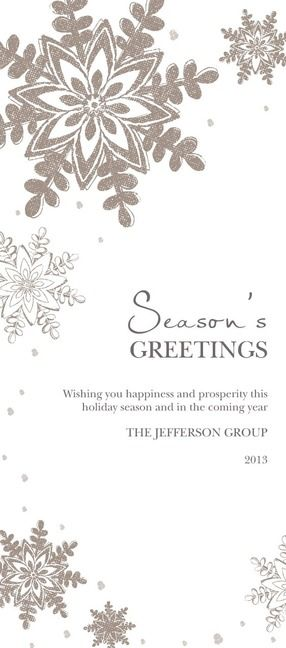 29 best tiny prints corporate holiday cards images on pinterest shining snowfall holiday card for your clients colourmoves