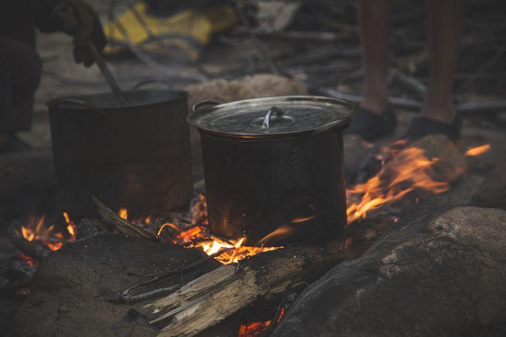 Un bon souper cuit sur le feu :)